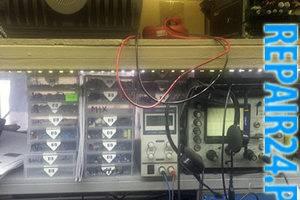 Набор электронных компонентов и осциллограф