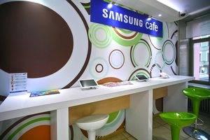 Демо зона продукции Samsung по адресу Марата, 12