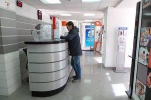 Фото сервисного центра Самсунг в Екатеринбурге. Приемная зона