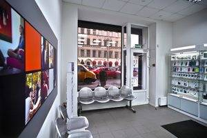 Сервисный центр на Марата, 22 в Санкт-Петербурге. Приемная зона